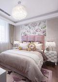 富裕型80平米法式风格卧室效果图