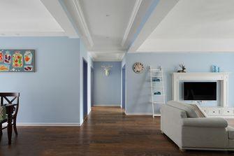 120平米三田园风格客厅装修图片大全