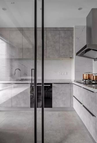 140平米三室两厅欧式风格厨房欣赏图