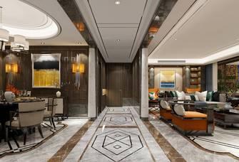 10-15万130平米三室两厅英伦风格玄关装修图片大全