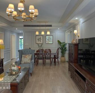 90平米法式风格客厅图