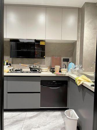20万以上140平米四室一厅轻奢风格厨房图片大全