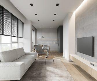 豪华型120平米三室两厅现代简约风格客厅图片