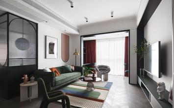 富裕型90平米英伦风格客厅装修案例