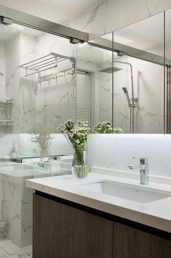 5-10万90平米三室两厅现代简约风格卫生间图片