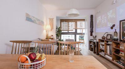 富裕型100平米三室一厅田园风格餐厅图片