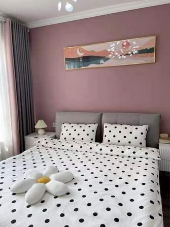 120平米三室三厅北欧风格卧室图片大全