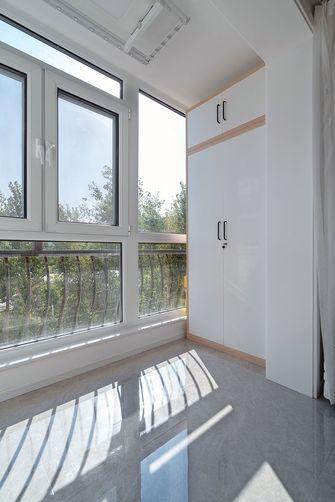 50平米现代简约风格阳台效果图