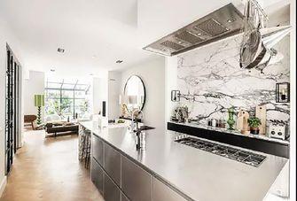 60平米一室两厅现代简约风格厨房装修图片大全
