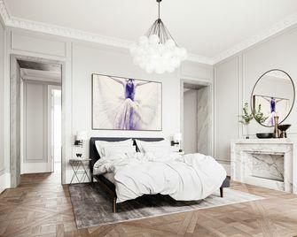 20万以上140平米三室一厅日式风格卧室图