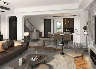 豪华型140平米四室三厅轻奢风格客厅图片