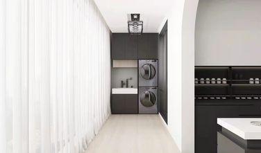 20万以上130平米三室一厅现代简约风格阳台图片