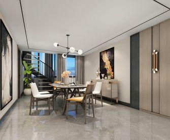 3万以下140平米四室两厅轻奢风格餐厅设计图