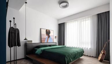 120平米三室一厅工业风风格卧室装修图片大全