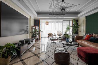 富裕型90平米三混搭风格客厅图片大全