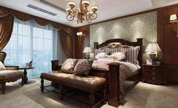 120平米三美式风格客厅装修案例