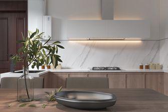 富裕型110平米三室三厅日式风格厨房设计图