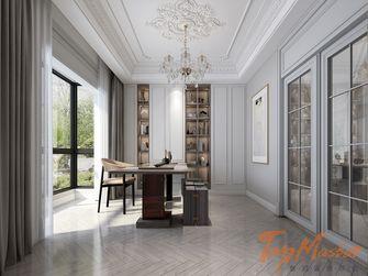 140平米四室两厅欧式风格书房图片大全