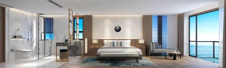 140平米混搭风格卧室图