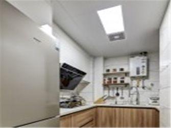 富裕型70平米现代简约风格厨房欣赏图