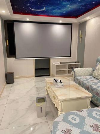 15-20万140平米别墅混搭风格客厅装修效果图