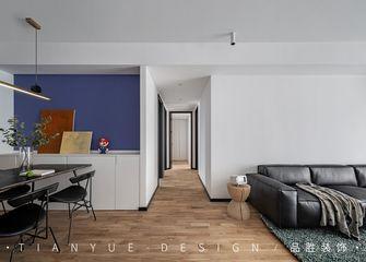 5-10万110平米三室两厅北欧风格走廊设计图