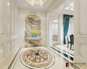20万以上140平米别墅欧式风格玄关设计图