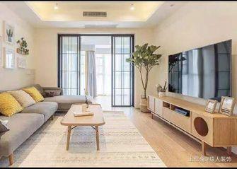 经济型100平米三室两厅北欧风格客厅装修图片大全