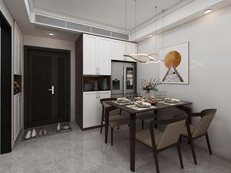 10-15万90平米三室两厅现代简约风格餐厅装修图片大全