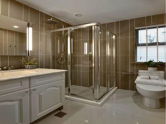 富裕型90平米三室两厅美式风格卫生间图片大全