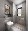 50平米一室一厅地中海风格卫生间装修图片大全