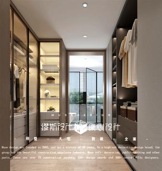 140平米别墅中式风格衣帽间效果图