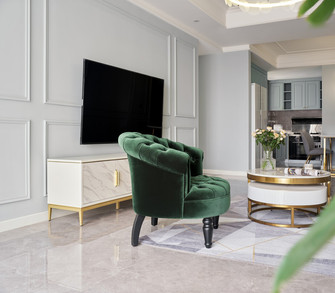 3万以下100平米欧式风格客厅设计图