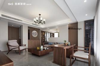 豪华型120平米三室两厅中式风格客厅设计图