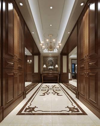 20万以上140平米别墅美式风格玄关欣赏图