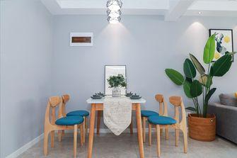 富裕型80平米三室两厅北欧风格餐厅图片