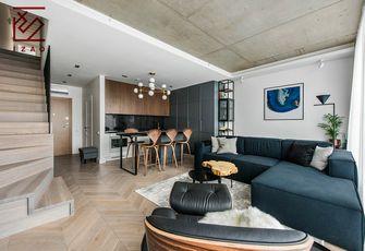 富裕型120平米复式北欧风格客厅欣赏图