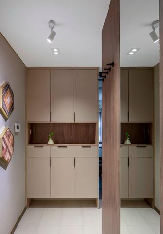 富裕型90平米中式风格玄关装修案例