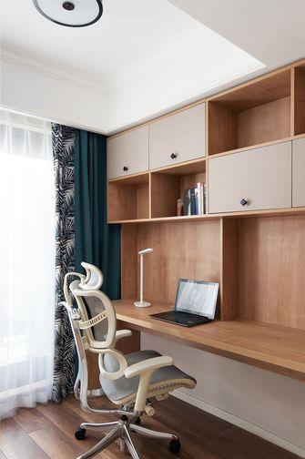 110平米四美式风格书房设计图