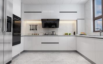 140平米四港式风格厨房装修图片大全