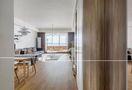 富裕型90平米三室两厅中式风格玄关设计图