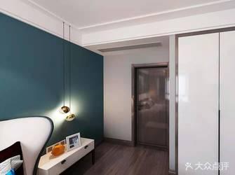 20万以上110平米四现代简约风格卧室欣赏图