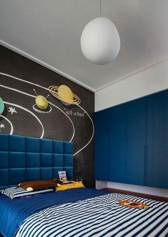富裕型90平米三室一厅轻奢风格卧室图片