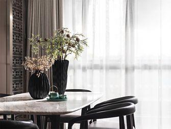 豪华型80平米三室一厅中式风格餐厅图片大全