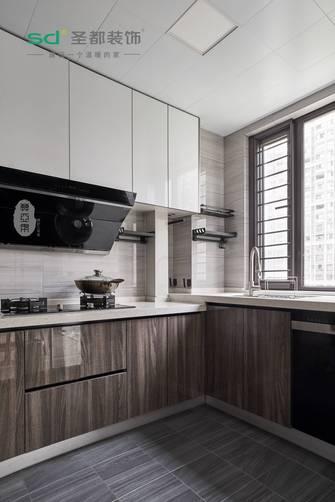 130平米三轻奢风格厨房装修效果图