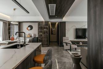 豪华型140平米现代简约风格客厅图片