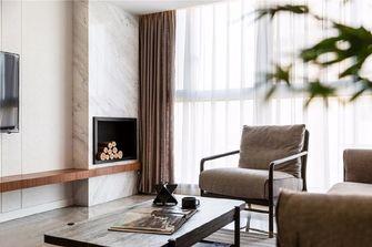 130平米三现代简约风格客厅效果图