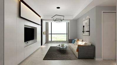 90平米一居室现代简约风格客厅装修图片大全