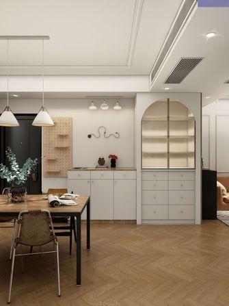 豪华型100平米三室两厅法式风格客厅图