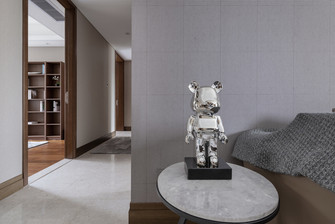 100平米三室一厅欧式风格书房装修案例